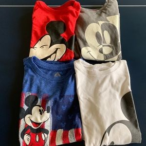 Sz 10 Mickey T-shirts for boys lot of 4